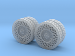 Airless Tires 1:35 - pattern 1
