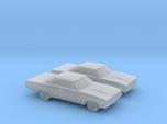 1/160 2X 1970 Plymouth GTX