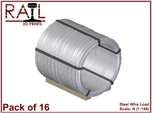 Pack of 16 N Scale Wire Coils