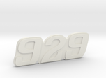 """Immortan Joe """"929"""" Codpiece Badge / Emblem"""