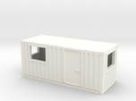 N Scale 20 Ft Office Container