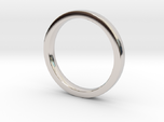 Wedding Band or everyday ring; 2.5mm size 7
