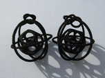Caged Moebius Earrings 1