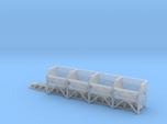 N Scale Aggregate Hopper 4+conveyor