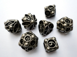 Spore Dice Set with Decader