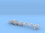 1/87th Heavy tridem drive truck frame chassis