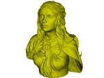 1/9 scale Daenerys Targaryen mother of dragon bust