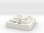 LEGO® Power Functions-compatible socket base