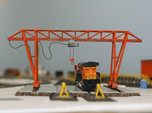 N Scale Gantry Crane 154mm