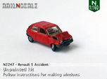 Renault 5 Accident (N 1:160)
