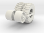 1:64 scale 24.5-32 Wheel And Tire Pair