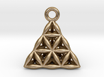 Flower Of Life Tetrahedron Pendant