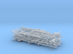 1/64th 80' Rock and materials folding conveyor