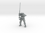 Robot Samurai Skeleton 01