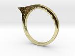Modern ring US size 8