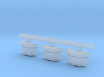 1:350 Scale USS John F Kennedy CONFLAG Stations