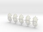 10 Spikes Shoulder Pads