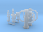 1/24 scale Playpipe w/ choice of nozzles