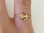 Anchor Bow Ring