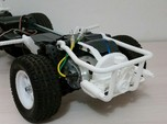 TAMIYA MF01X ENGINE REPLICA AND REAR CAGE