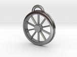 McKeen Motor Car Driver Wheel Necklace