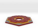 Catan Hex Tile Brick 79mm