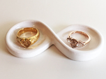 Couple's Infinity Symbol Ring Dish