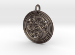 Norse Motif Round Medallion (for bronze steel)