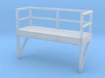 'N Scale' - 10' Ladder Platform