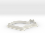 Easter bunny cookie cutter big xxl baking 160MM