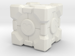 """Weighted Portal Cube - Heart - 1"""" (100% Accurate)"""