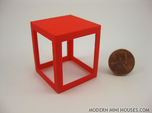 Framed 1:12 scale Side Table