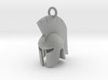Spartan helmet keychain/pendant