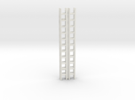 Extension Ladder 12Ft 1-87 HO Scale (2PK)