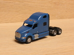 1:160 N Scale Peterbilt 387 Tractor x2