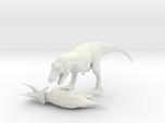 Tyrannosaurus VS Triceratops 1:40