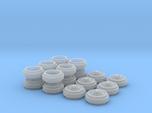 1/64 Alcoa Dually Rims 3 Sets
