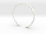 Plastic twist wrist band (M)