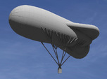 Caquot Type M Observation Balloon