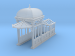 HO Scale (1:87.1) Subway Kiosk Entrance