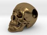 Human Skull Bead - small