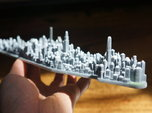 Manhattan 3d Model Sculpture Souvenir