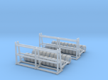 Rack With Tires Z Scale