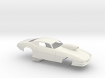 1/8 Pro Mod 73 Camaro Flat Hood W Scoop
