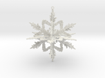 Snowflake , Christmas ball