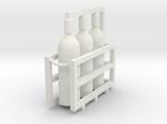 Welding & Gas High Pressure Cylinders In Rack 1-45