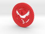 Pokemon Go Team Valor Challenge Coin