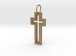 Hollow Cross Keychain