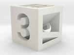 Photogrammatic Target Cube 3