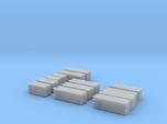 2x4 2x8 And 4x4 Lumber Load, N Scale, Flat Car